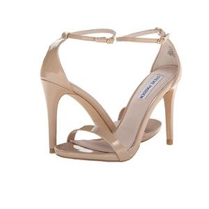 STEVE MADDEN • Stecy nude ankle strap heel